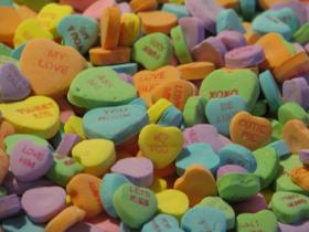 Candy hearts might be easier to interpret than some online dating profiles.