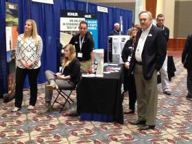 Nathan Nissen (front right) with Kohler team at summit.