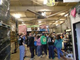 Milwaukee Brewing Company offers numerous weekly tours.
