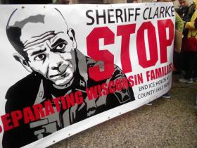 Immigration activists are calling upon Sheriff Clarke to stop calling ICE on non violent offenders