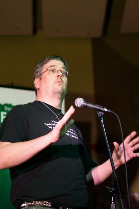 Ex Fabula participant Andrew Larson
