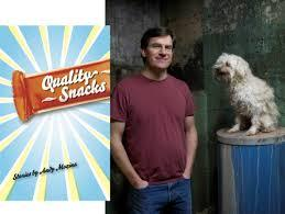 Andy Mozina's second book, Quality Snacks, features fifteen short stories about the characters that he grew up with in the Brookfield/Milwaukee area.