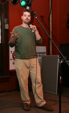 Anthony Umlauf on stage in 2010.