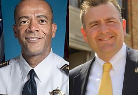 Incumbent Sheriff David Clarke faces a challenge from Milwaukee Police Lt. Chris Moews on Aug. 12