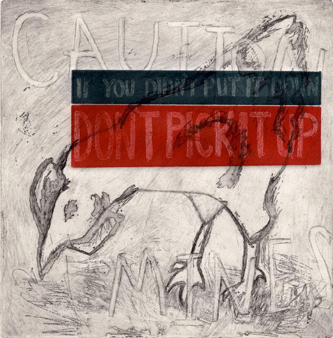 """""""Chicken Mines"""" - Artist: Nicole Shaver - Veteran: Elizabeth Benn"""
