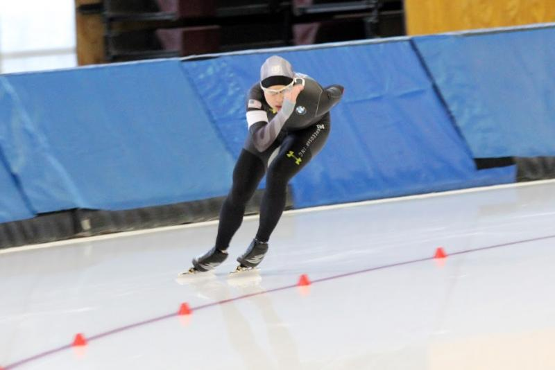 Bridie Farrell Skates in the American Cup Final in Utah