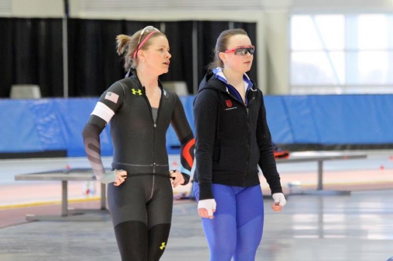 Bridie Farrell & Milwaukee Skater Jackie Bernico in Utah