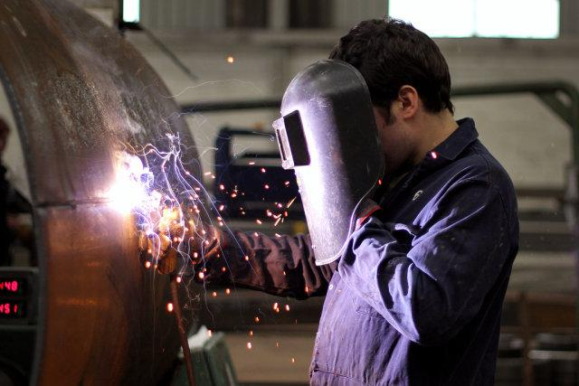 Skilled welders are among the professions most in demand, according to many business surveys.