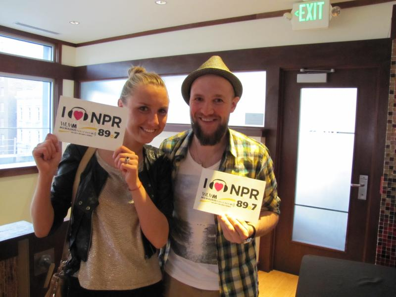 Katia and Tima Fei of NORdjs love public radio!