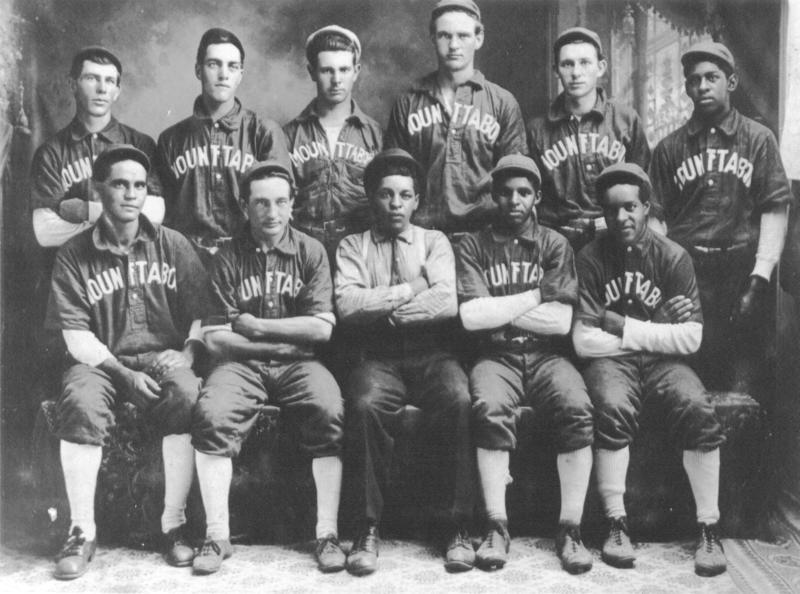 Multi-racial Baseball Team