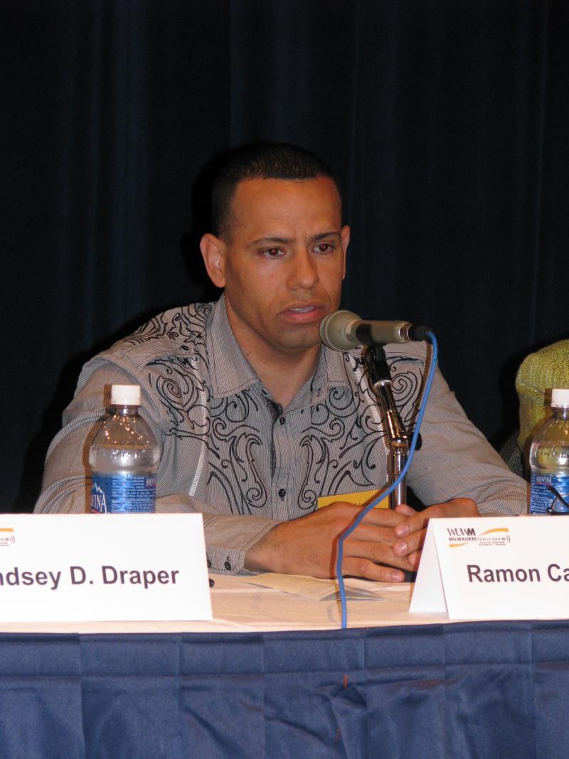 Panelist Ramon Candelaria