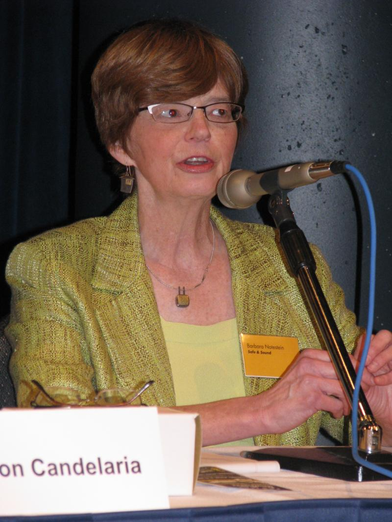 Panelist Barbara Notestein