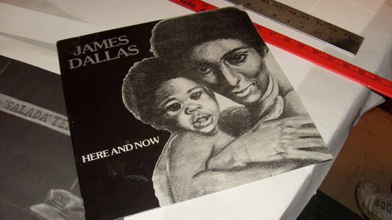 An album cover Sims designed
