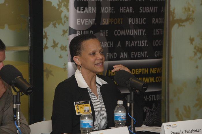 Panelist: Paula Penebaker