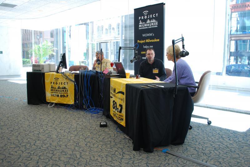 Bob Bach, Mike Westendorf & Marge Pitrof