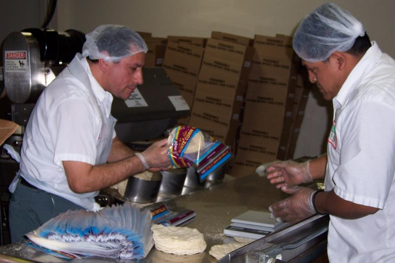 Packaging Tortillas at the El Rey Plant