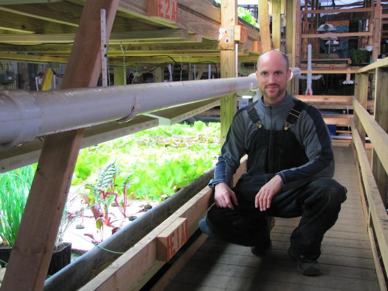 Jesse Hull, Sweet Water Organics horticulturalist