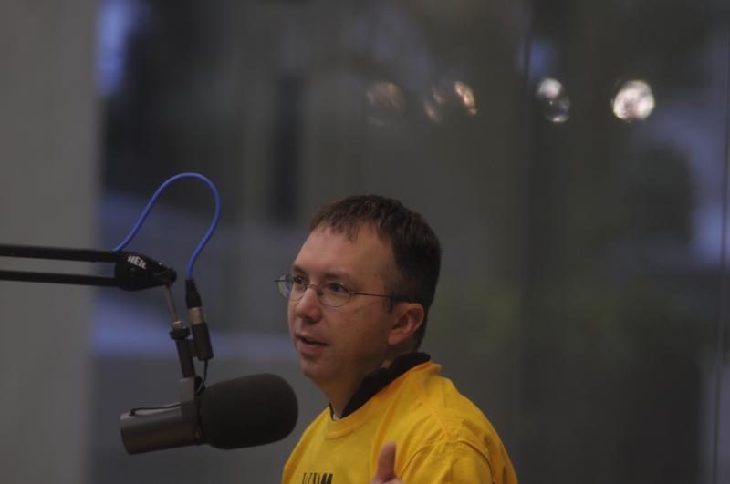 Mike Westendorf of UWM's Innovative Weather