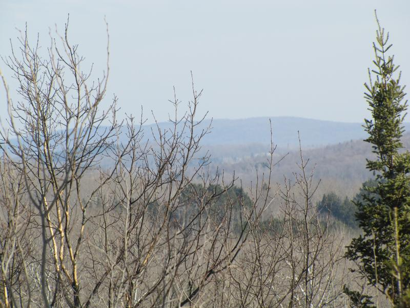 View of the Penokees from lookout outside Mellen