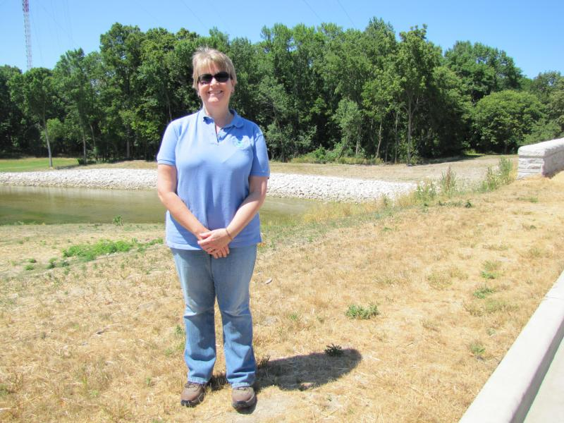Brenda Jones with the EPA describes the Lincoln Creek remediation project as a success.