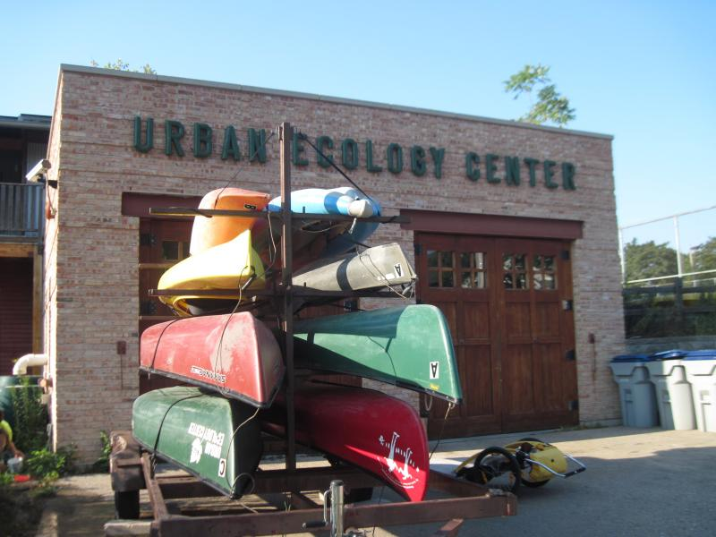The Urban Ecology Center at Riverside Park rents a fleet of canoes and kayaks to members.