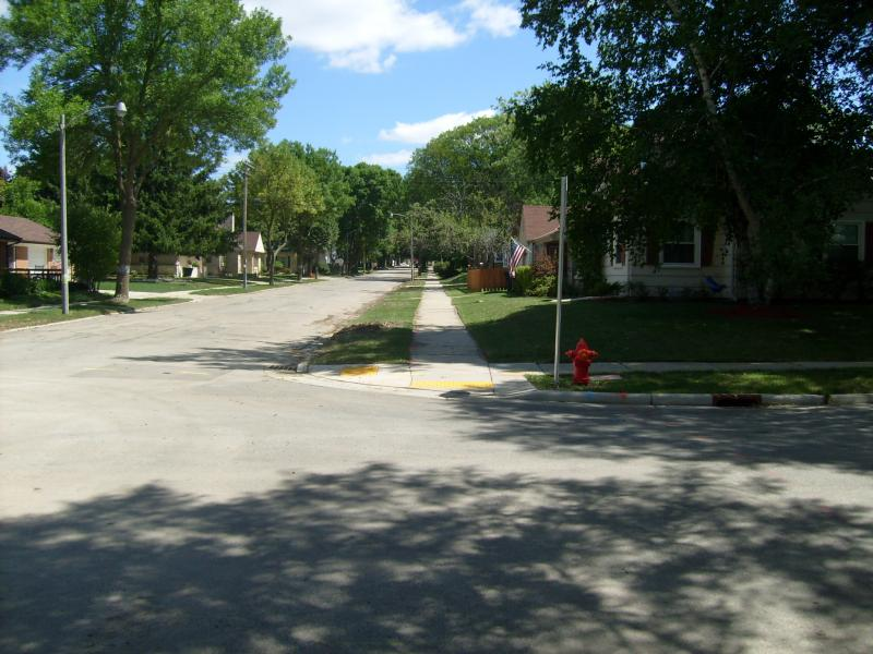 Wauwatosa Block Looking East