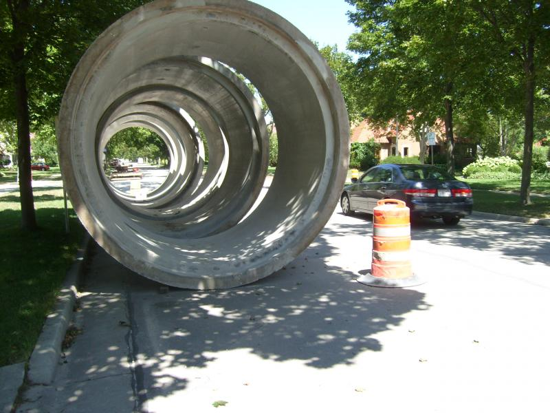 10 Foot Storm Pipes in Wauwatosa
