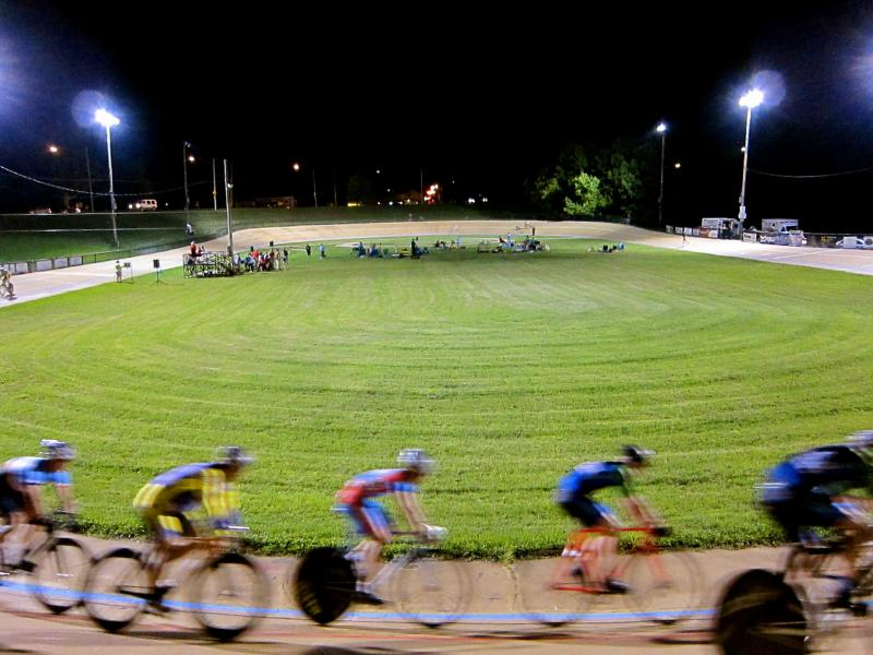 Washington Park Velodrome in Kenosha