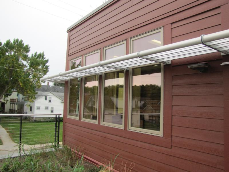 Awnings helps to control temperature and light