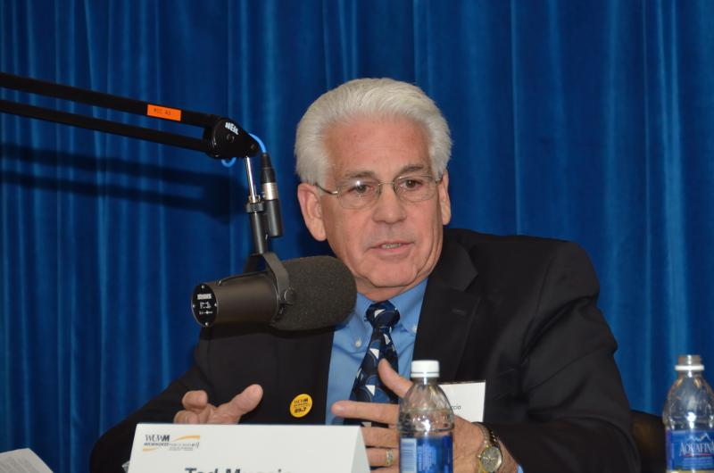 Panelist Ted Muccio
