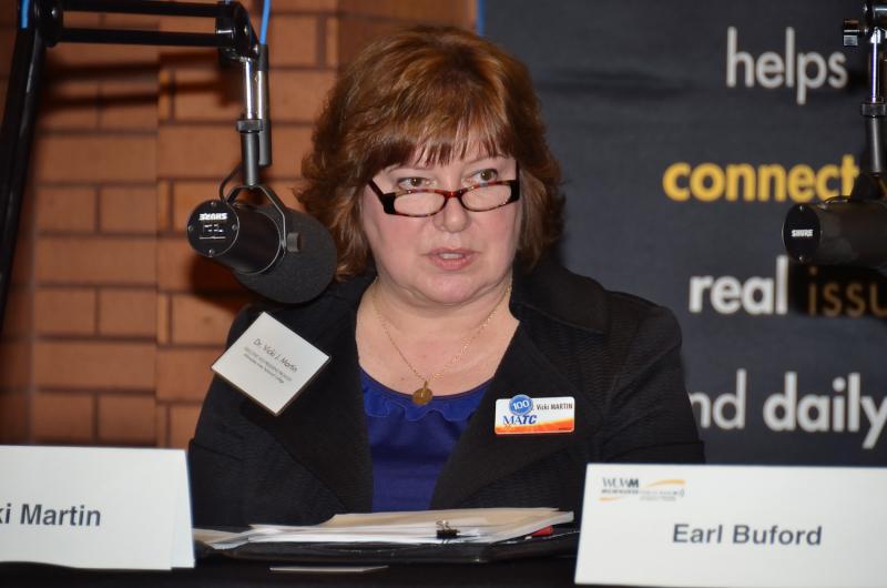 Panelist Dr. Vicki Martin