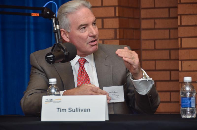 Panelist Tim Sullivan