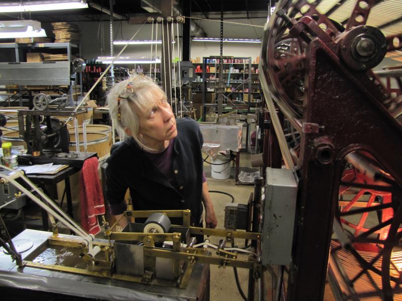 Mary Hart has 20 years of ribbon making experience