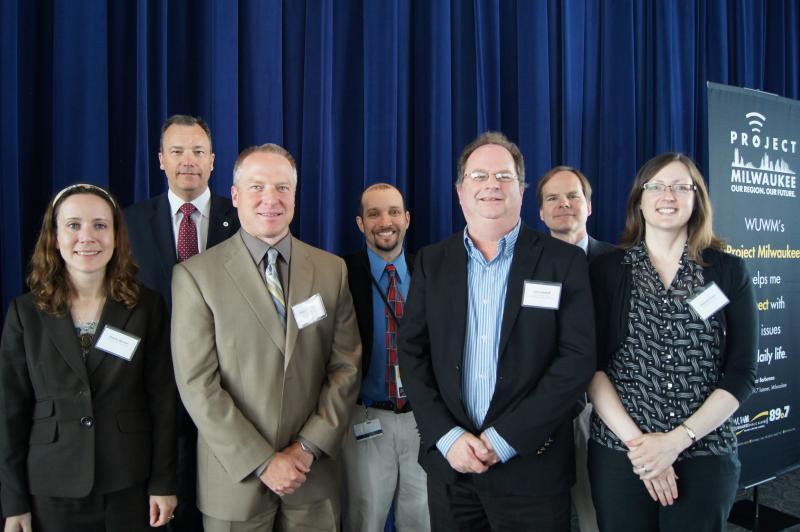 Forum Panelists: Shahla Werner, Charles McGinnis, Andy Hesselbach, Mitch Teich, Gary Radloff, Tom Content and Deborah Erwin