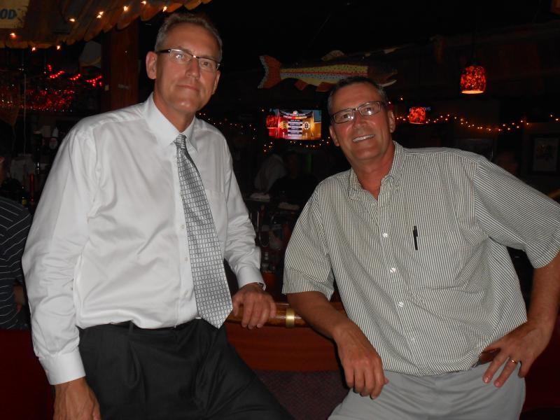 Brothers Tom and Larry Schmock grew up at Smoky's Club. Larry owns Madison's Blue Velvet Lounge. Tom is the second-generation owner of Smoky's Club