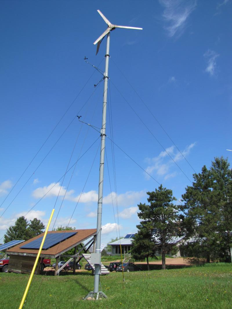 A training turbine on MREA grounds