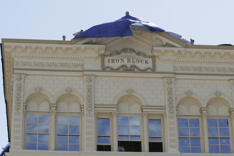 The Iron Block Building