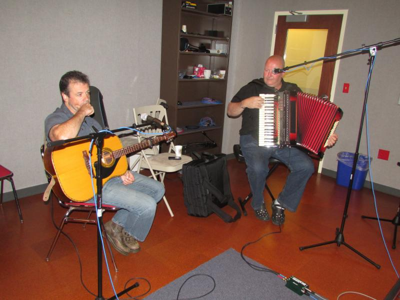 Bohola in the Lake Effect studio.
