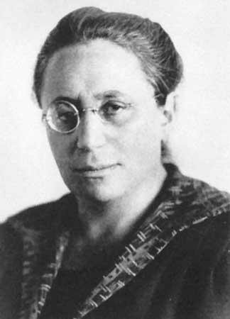 Emmy Noether, one of the most influential woman mathematicians