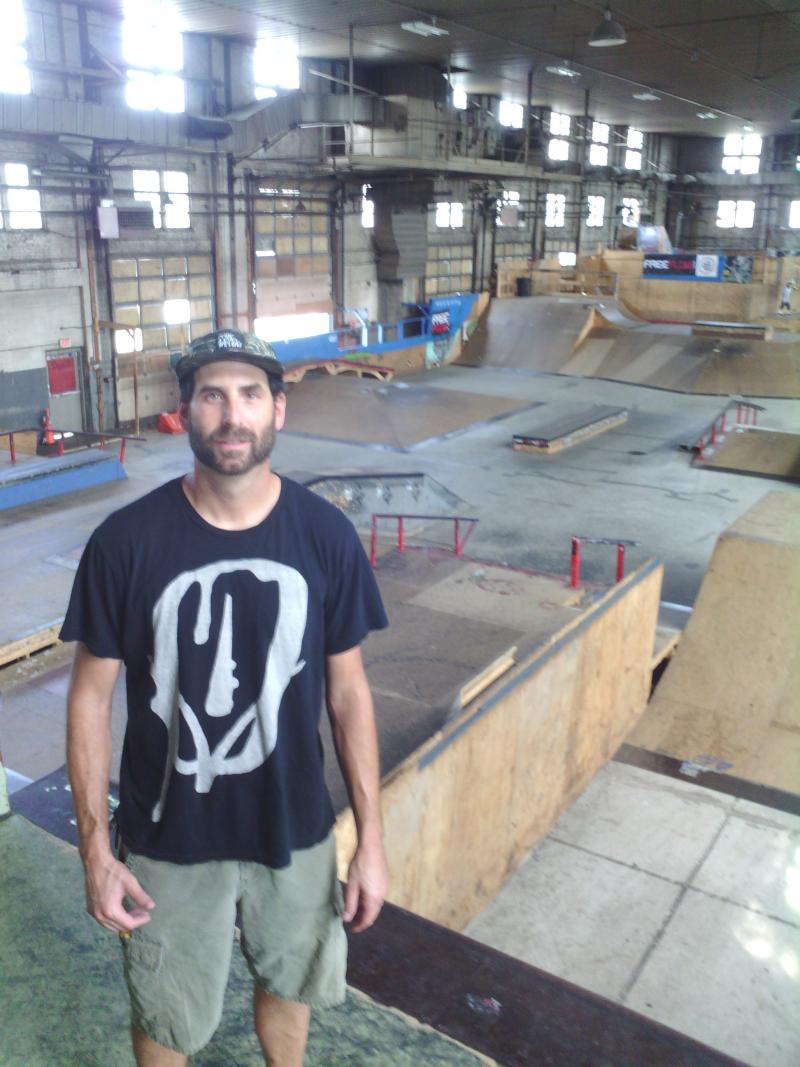 Neal Levin is the founder and owner of 4 Seasons Skatepark