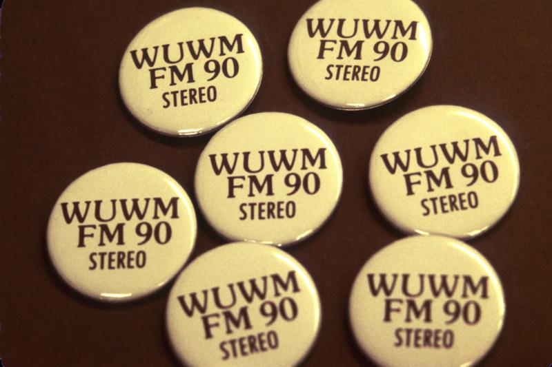 WUWM FM 90 Buttons (1980s)