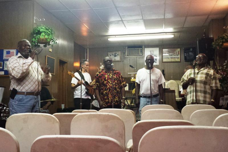 The Masonic Wonders are Milwaukee's longest continually running black gospel quartet.