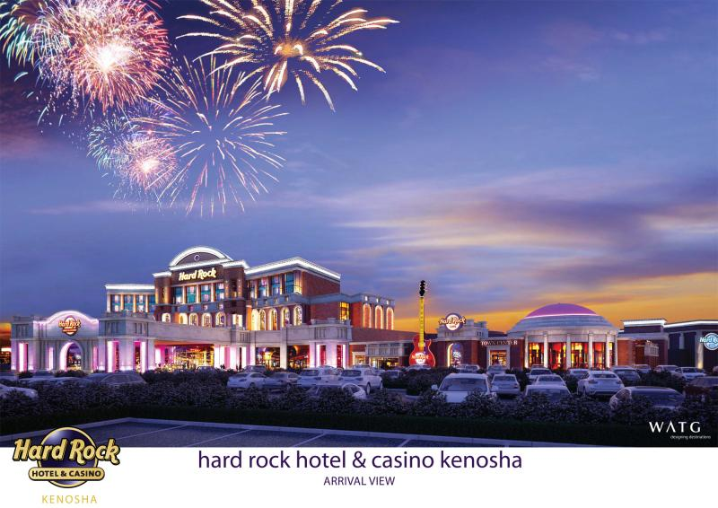 Hard Rock International officials have released images of a proposed casino in Kenosha.