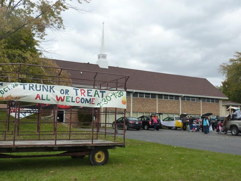The Messiah Evangelical Lutheran Church in Beloit held its 2nd annual trunk-or-treat event for more than 100 kids on Saturday, Oct. 26th.