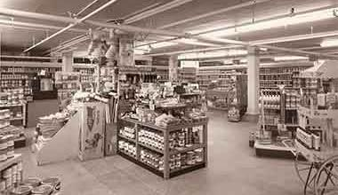 Inside Lauerman Brothers Department Store