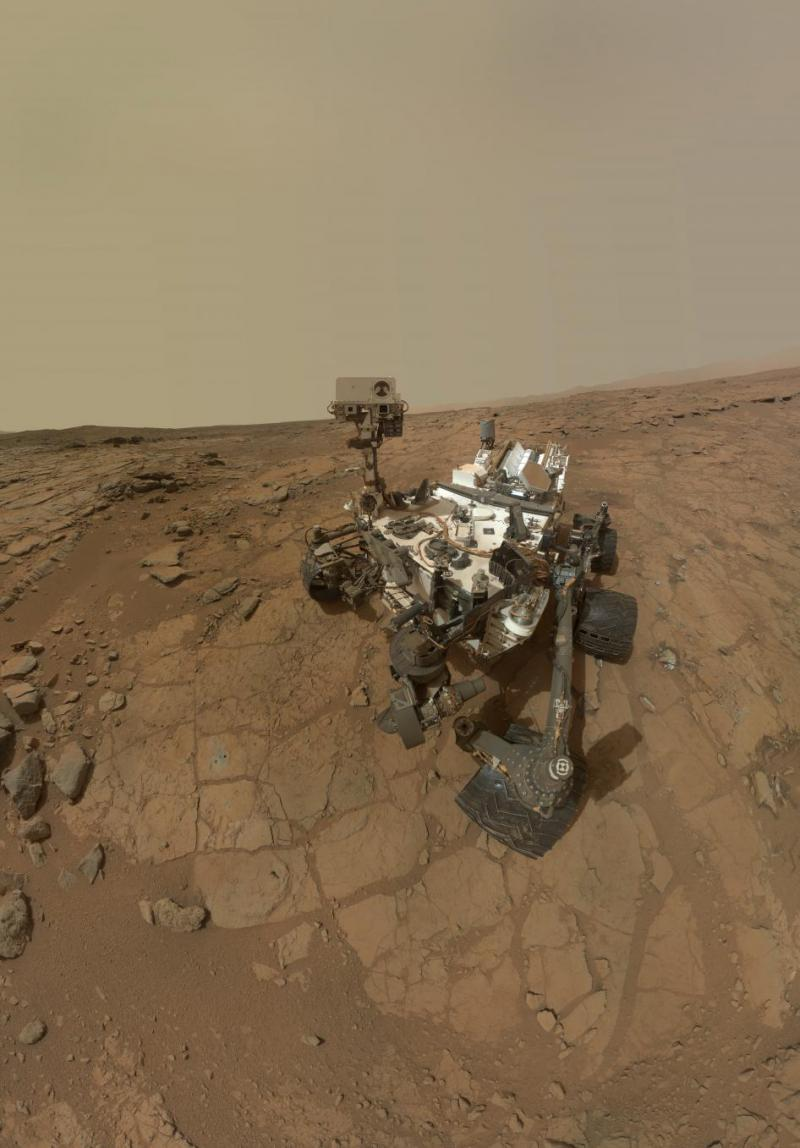 Curiosity is testing rock samples on Mars.