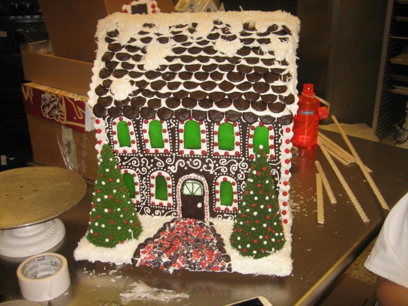 Edible house