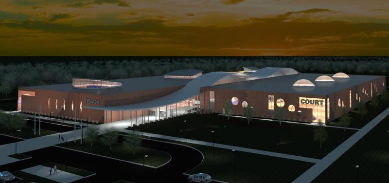 The planned exterior of The Ability Center