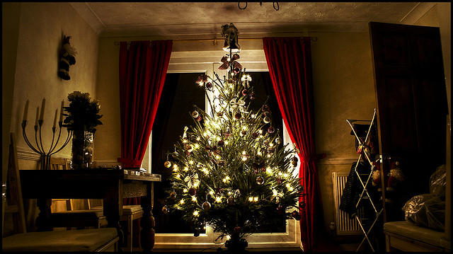 Queen Victoria put up a Christmas tree for her husband, Prince Albert.