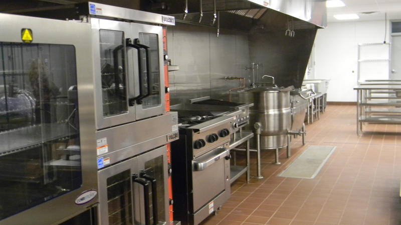 Inside FEED kitchen